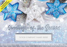 Blue Star Magic Holiday Cards